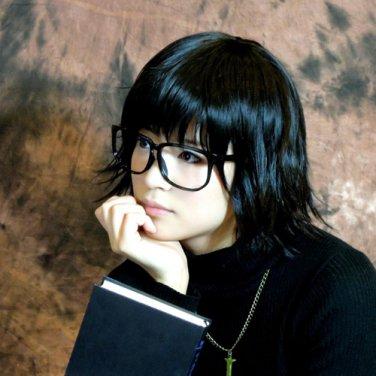 HUNTER HUNTER SHIZUKU short black cosplay wig