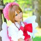 Cardcaptor Sakura KINOMOTO SAKURA short brown cosplay wig