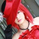 Black Butler Madam Red short red cosplay wig