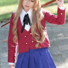 Dragon Hudou aisaka taiga long curly Brown Cosplay Wig
