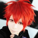 Uta no Prince-sama Ittoki Otoya short red orange cosplay wig