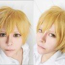 Free Hazuki Nagisa short blonde golden cosplay wig