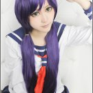LOVE LIVE Toujou Nozomi Long Straight 100CM purple Cosplay wig costume + wig cap