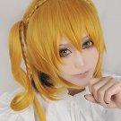 Kagerou Project KISARAGI MOMO braid blonde cosplay wig