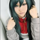 Kagerou Project Kido dark green 60cm long straight cosplay wig