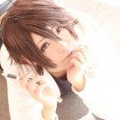 Sekai ichi Hatsukoi yoshino chiaki short brown anime cosplay wig