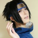 NARUTO Uchiha Sasuke short black anime cosplay wig