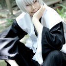 BLEACH Ichimaru Gin short silver white anime cosplay wig
