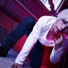 Tokyo Ghoul Renji Yomo silver white short anime cosplay wig