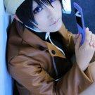 Mirai Nikki Amano Yukiteru short black anime cosplay wig