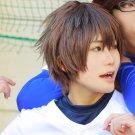 ACE of Diamond Eijun Sawamura short brown anime cosplay wig