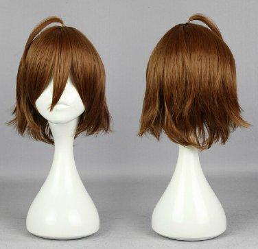 Akame ga KILL!Tatsumi short brown anime cosplay wig
