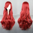 Bounty Hunter Little Mermaid Ariel long 80cm curly red cosplay wig
