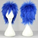 Gekkou kurenai VocAloid KAIKO short blue anime cosplay wig