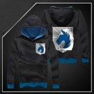 Attack on Titan military police regiment Anime Cosplay unisex long Sleeve Hoodie sweatshirt