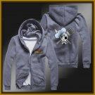 ONE PIECE Sanji zipper anime cosplay cardigan hoodie coat sweatshirt