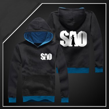 Sword Art Online SAO Kirigaya Kazuto winter anime cosplay costume hoodie coat sweatshirt
