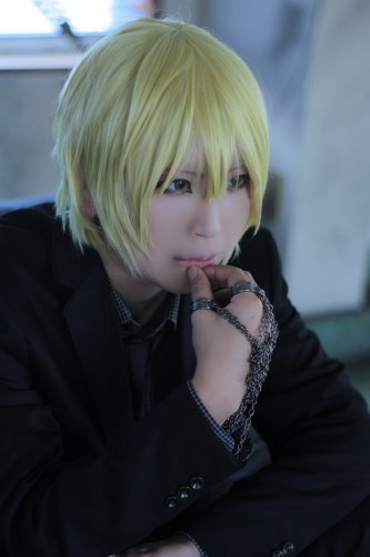 HUNTER HUNTER Kurapika short blonde cosplay anime full wig