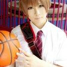 Kuroko No Basketball Sakurai Ryo short tea brown anime cosplay wig