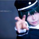Angel beats Naoi Ayato short dark green anime cosplay wig