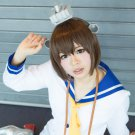 kantai collection Yukikaze short brown anime cosplay wig