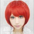 Koizumi Mahiru short red anime cosplay wig