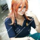 Uta no Prince-sama Jinguuji Ren Orange Blonde Cosplay Wig +free wig cap