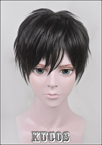 new samumenco/Samurai Flamenco short black cosplay costume wig