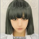 Spirited Away Nigihayami Kohakunushi short dark green anime cosplay full wig