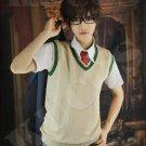Parasyte Shin Izumi Short brown anime cosplay full wig