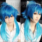 Dramatical Murder DMMd AOBA Long Blue Mix Cosplay Wig