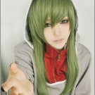 MekakuCity Actors Kido light green 60cm long straight cosplay wig