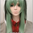 Kagerou Project Kido Tsubomi 65cm long straight green cosplay wig MekakuCity Actors