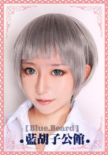 Free! Iwatobi Swim Club Aiichiro Nitori Halloween Short  Gray Costume Cosplay wig