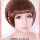 Hot Sell PSYCHO-PASS Tsunemori Akane short coffe Brown cosplay wig