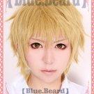 Noragami Yukine gold mix short Cosplay wig + free shipping+ Free Wig Cap