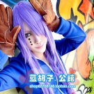 VOCALOID Long Cosplay Long straight 100cm Purple cosplay Wig