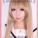Axis powers APH Natalia Alfroskaya long 100cm tea brown cosplay wig