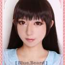 HOT IB dark brown long straight 70cm Cosplay Party Fashion Wig + free wig cap
