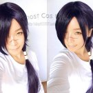 Dramatical Murder DMMD 60cm  long black purple cosplay wig