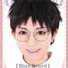 Yowamushi Pedal Onoda sakamichi short black anime cosplay wig