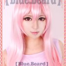 Super Sonico long pink 65cm Anime Cosplay costume wig