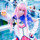 Hgamecn Endoh Ifrina long pink 80cm cosplay wig