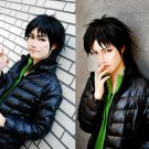 KAIJI Ultimate Survivor Itou  Kaizi 60cm black anime cosplay wig