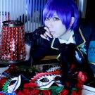 MARGINAL#4 Rui Aiba short blue cosplay wig