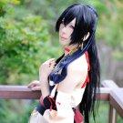 Ken ga Kimi Sakyo Sagihara black 60cm ponytail cosplay wig