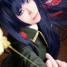 DOLLS Seijyu Shikkibu 100cm long straight blue black cosplay wig
