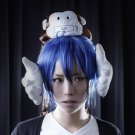 Kamisama no Iutoori short blue cosplay wig