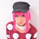 KILL la KILL jyakuzure nonon rose red short cosplay wig