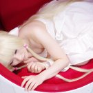 Chobits Eruda long 100cm blonde straight cosplay wig